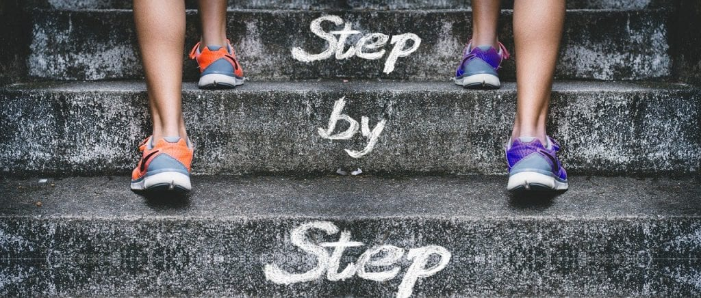 Success stairs