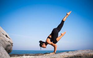Health Yoga Facebook Ad